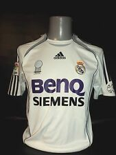 Real Madrid 2006-07 home shirt fifa world club award adidas