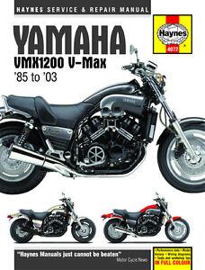 haynes manual 4072 yamaha v max 85 03 vmax workshop service rh ebay co uk Shop Manual Online Honda 9Hp Engine Shop Manual