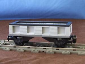 Custom-City-Cargo-Train-Car-Built-with-New-Lego-Bricks-fits-9V-RC-IR-Tracks-Sets