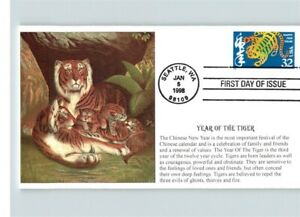 Chinese New Year, YEAR of the TIGER, 1998 First Day of ...