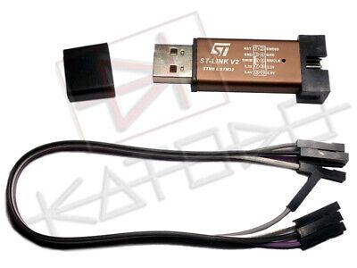 Toutes couleurs ST-Link V2 Programmeur Emulator debugger Simulator  STM8 STM32