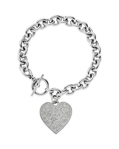Fashion 3 Couleurs-lock Lien Chaîne Full Crystal Coeur Cadenas Bracelets