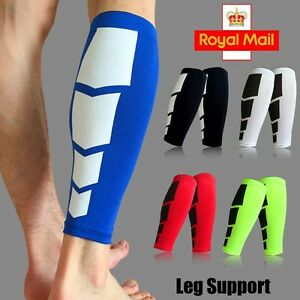 796ad533d7 Image is loading Sport-Leg-Support-Shin-Socks-Varicose-Veins-Calf-