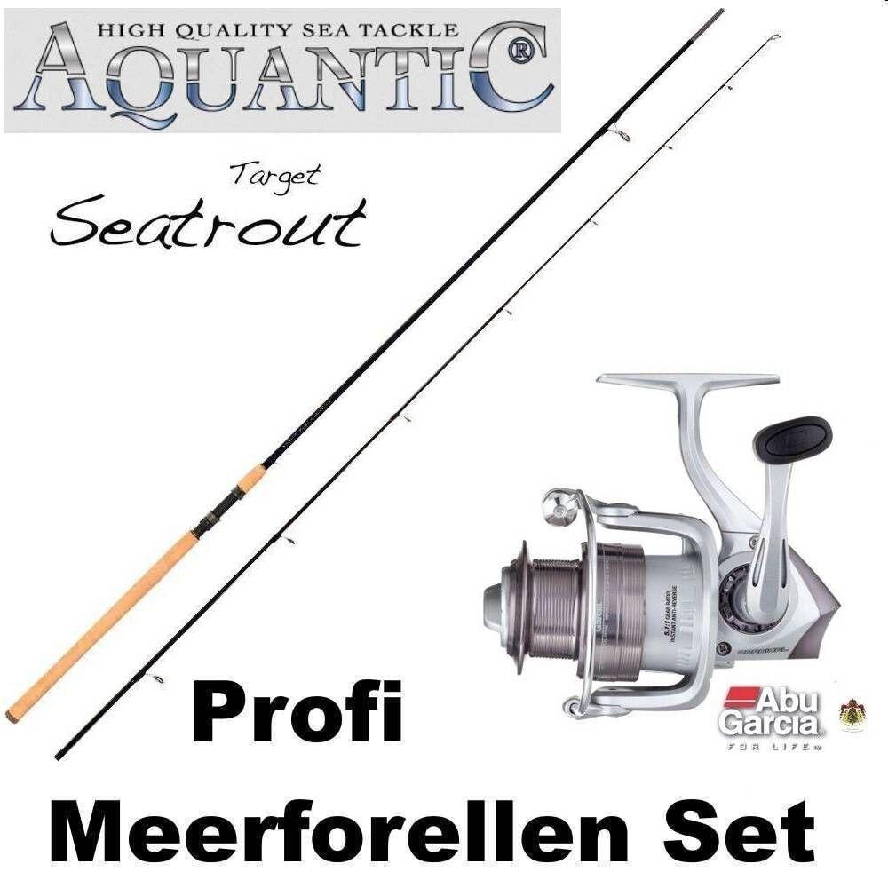 Meerforellen Set   +++ Aquantic Target Seatrout + ABU CARDINAL S FD40 +++ Deal