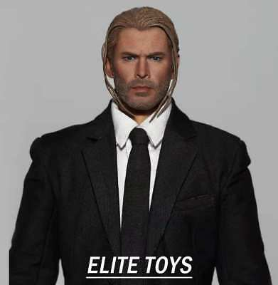 ELITE TOYS Avengers 1//6 Raytheon Sol Dice Hairstyle Head Sculpture F 12/'/' Body