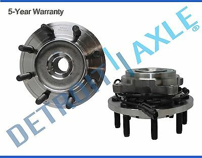 Both (2) New Front Wheel Hub & Bearings for Dodge Ram 2500 3500 4x4 w/ ABS