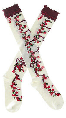 Hot Sale!40cm Long Sweet Lolita Fashion Cozy Socks Many Styles Free Shipping