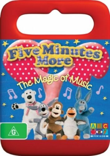 1 of 1 - Five Minutes More - The Magic Of Music DVD Region 4 (VG Condition)