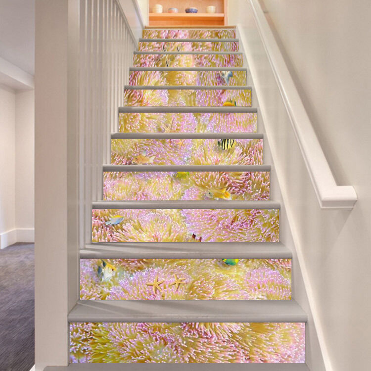 3D Kirsche bluemig Stair Risers Dekoration Fototapete Vinyl Aufkleber Tapete DE