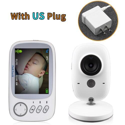 Moniteur bébé sécurité caméras vidéo sans fil vision de nuit Température Contrôle