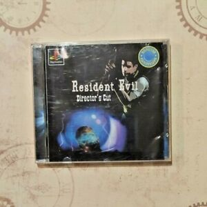 Rare Russian Collector's edition Playstation game Resident Evil Director`s Cut