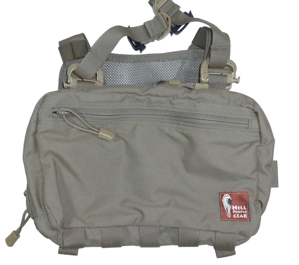 Hill People Gear V2 Kit Bag Ranger verde Concealed Carry First Aid Survival SAR