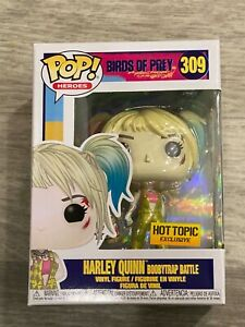 Funko Pop Birds Of Prey Harley Quinn 309 Vinyl Figure Pop Hot Topic Exclusive Ebay