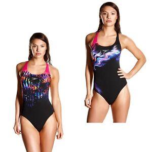Genieße den reduzierten Preis unglaubliche Preise heißer verkauf rabatt Details zu Speedo Badeanzug Frauen Poweback Damen Schwimmanzug Training  Wettkampf Endurance