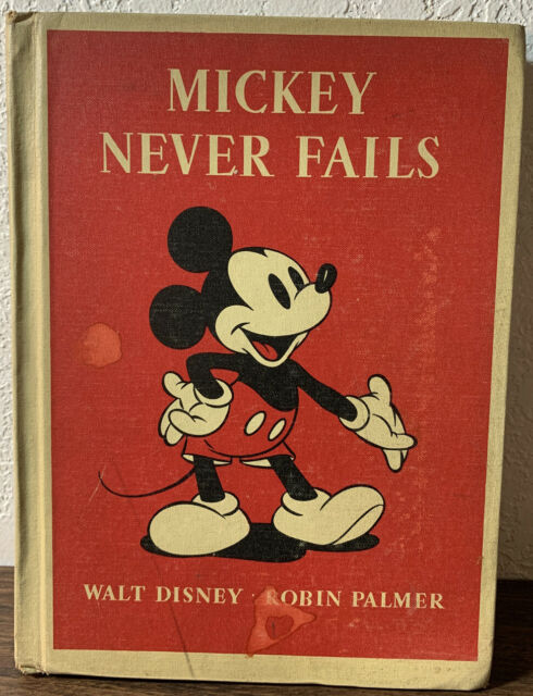 Mickey Never Fails By Robin Palmer 1939 Hardback For Sale Online Ebay