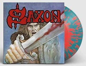 Saxon-S-T-1st-Album-Limited-Edition-Red-Splatter-Vinyl-LP-BMG-ALBUM-EU-2018