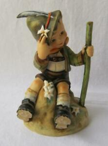 M I Hummel Goebel THE MOUNTAINEER Porcelain Figurine Germany Mold 315 TMK 4