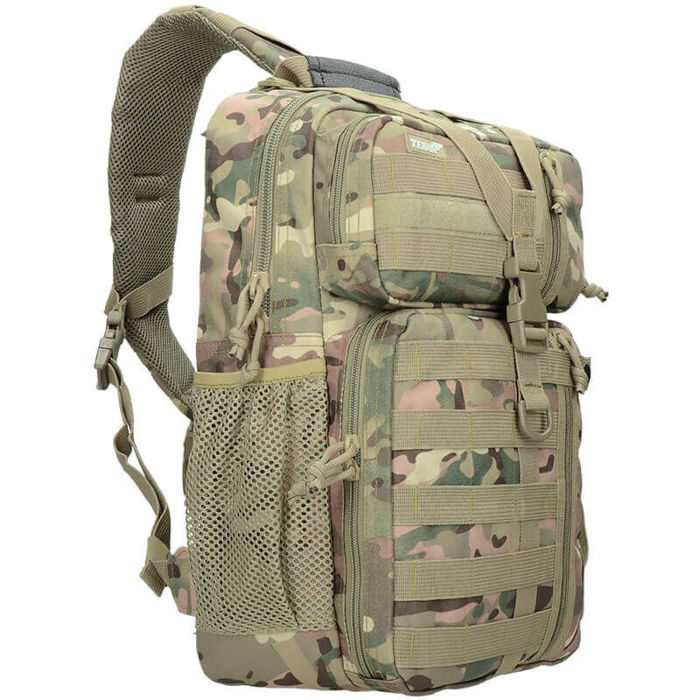 Texar Shoulder Bag Military Style Outdoor OSB 22L MOLLE MC Camo