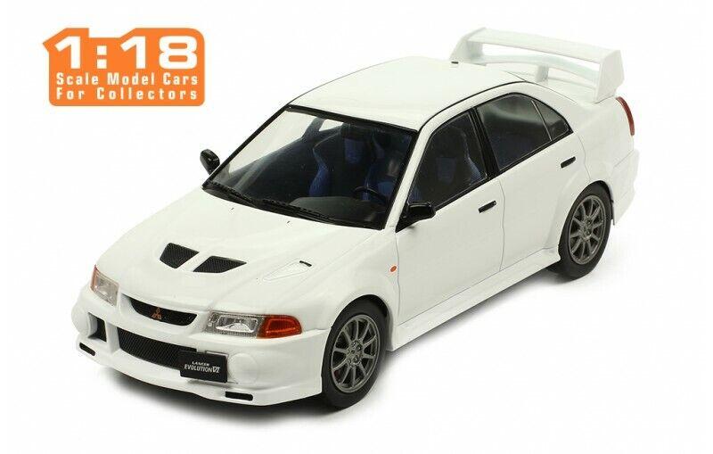 Mitsubishi Lancer RS Evolution VI  1998 blanc 1 18 18CMC013 Ixomodels