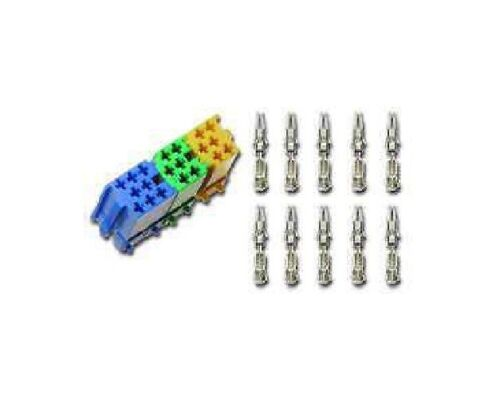 Mini ISO conector set 20 x micro-timer-contacto los conectores o enchufes