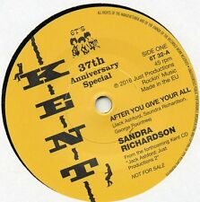 SANDRA RICHARDSON-AFTER YOU GIVE YOUR ALL/HYTONES-RUNAWAY GIRL  UK KENT 37th ANN