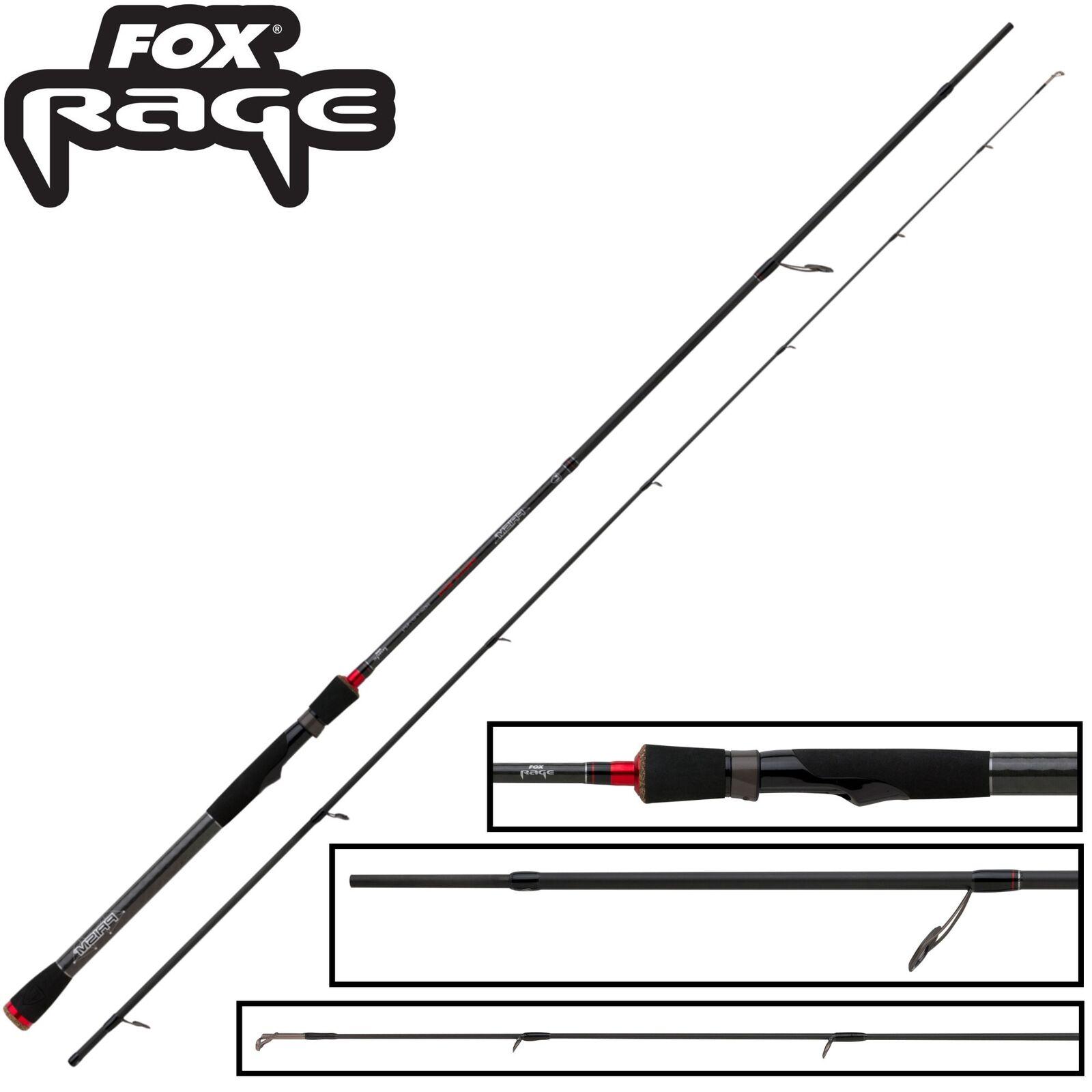 Fox Rage Prism Medium Medium Medium Spin Rod 240cm 5-21g - Spinnrute für Barsch, Raubfischrute 9268e7