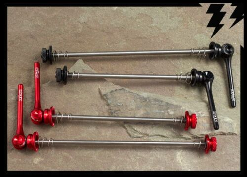 RED or BLACK tune it extralite MT ZOOM Ti Quick Release QR Road Skewers 43g