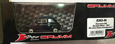 """DIE CAST BRUMM """" FIAT NUOVA 500 NORMALE CHIUSA 1957 BLU SCURO """" R343-06 1/43"""