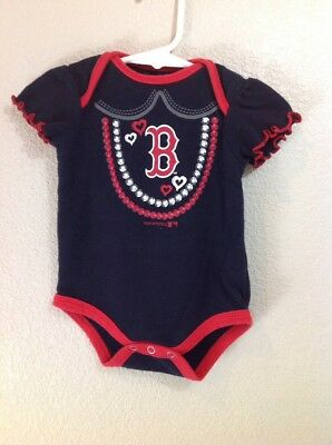 Boston Red Sox Infant Girl/'s one piece