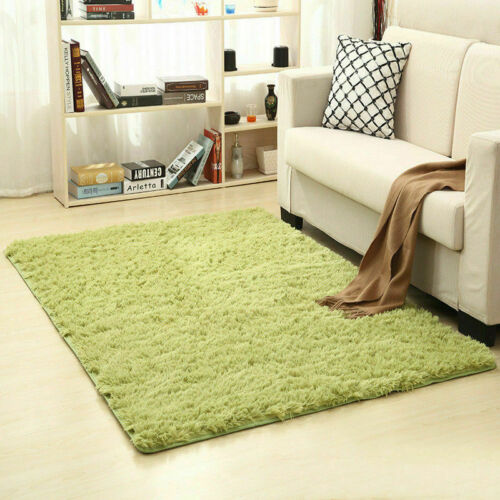 14 Colors Carpet Solid cl Area Rug Bathroom Rugs Non-slip Mat Long Hair 12 Sizes