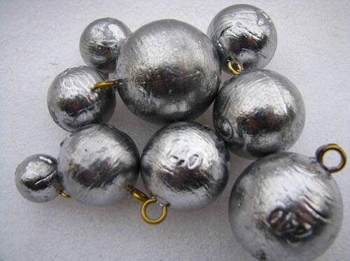 Kugelblei mit Öse Carp und Waller Ball Bomb verschiedene Gewichte
