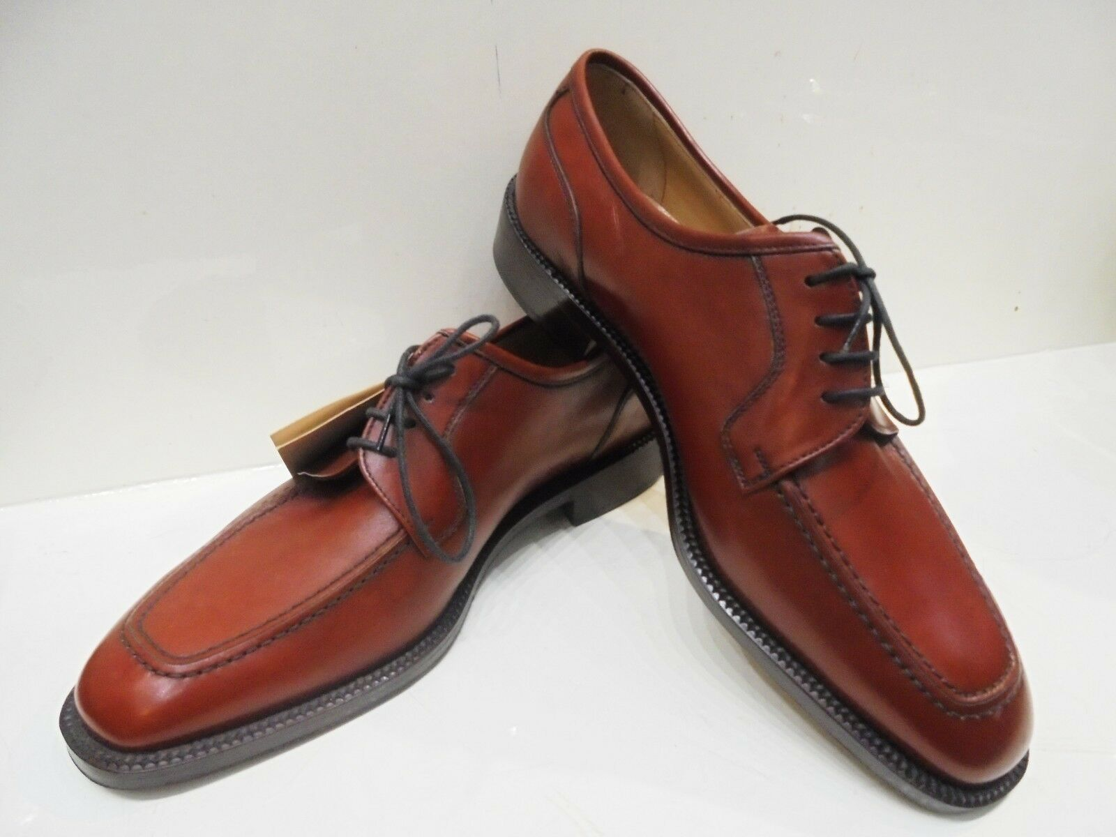 shoes men HERRY SAX CUIR BRUN - MADE IN ITALY ARTISANAT HAUTE QUALITÉ