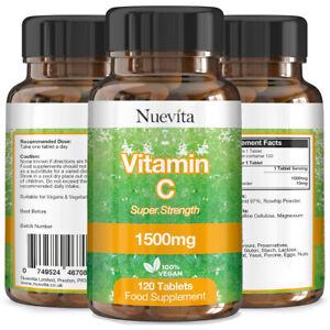 La-vitamina-C-x-360-comprimidos-Vegano-1500mg-Super-Fuerza-Vitamina-C-superior-a-1000mg