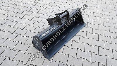 Anbaugeräte Baugewerbe Nachdenklich Grabenräumlöffel Ms01 Sy 800 Mm Löffel Schaufel Minibagger Ms 01 80 Cm 2 T