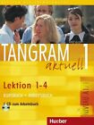 Tangram aktuell 1. Kursbuch und Arbeitsbuch, Lektion 1 - 4 von Eduard Jan, Til Schönherr und Rosa-Maria Dallapiazza (2016, Set mit diversen Artikeln)