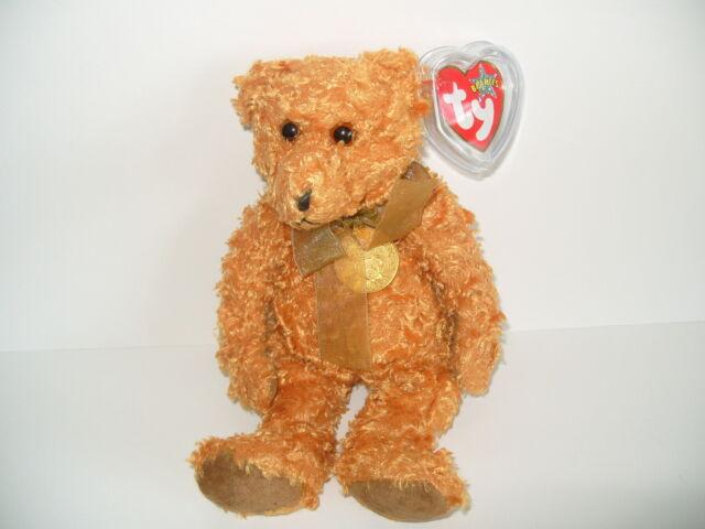 22a8dc38789 TY BEANIE BABY TEDDY - CELEBRATION OF 100 YEARS OF TEDDY BEARS 1902-2002 -