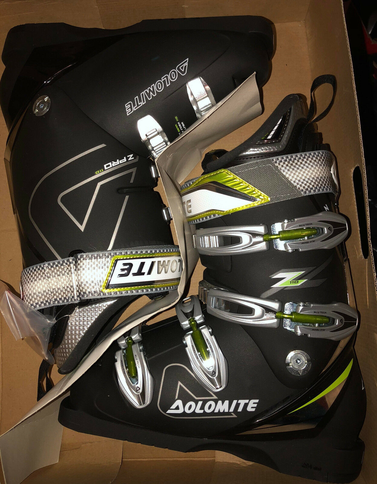 New Dolomite Pro Z 110 performance ski boots, mondo 25   are doing discount activities