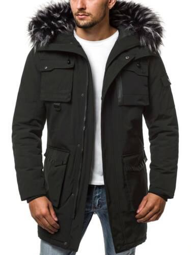 Mixd invernale lungo Ozonee Giacca parka caldo invernale uomo 9335 cappuccio cappotto cappotto x8qaPS