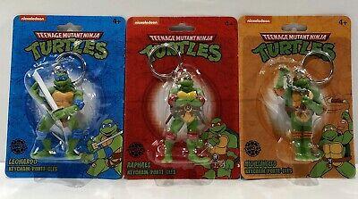 Teenage Mutant Ninja Turtles Leonardo Donatello Raphael Michelangelo KeyChains