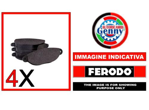 FDB4386 PASTIGLIE FRENO MICROCAR MC1//MC2 01-/>08