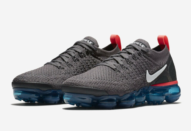 online store 16562 cdce2 2018 WMNS Nike Air Vapormax Flyknit 2 SZ 7 Thunder Grey White Teal  942843-009