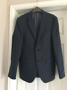 New-M-amp-S-Autograpgh-36-Inch-Medium-Navy-Tailored-Suit-Jacket