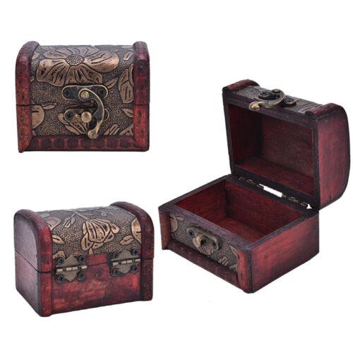 Boîte à bijoux en bois à collectionner LTA