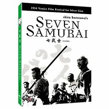 Seven Samurai - UK Region 2 Compatible DVD Takashi , Toshiro, Akira Kurosawa NEW