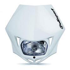 Polisport MMX Road Legal Headlight Enduro KTM CRF XR WRF YZF DRZ - White
