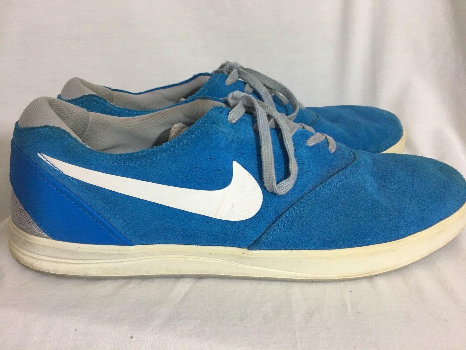 new style e1ff5 4d144 Nike Hombre Signature Eric Kosten skateboarding Azul Azul Azul Suede  nosotros cómodo barato y hermoso moda