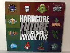 HARDCORE FUTURE DUTCH MASTERS VOLUME FIVE GABBER HARDCORE RAVE CD RUFFNECK ETC