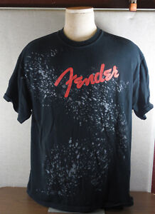 """Audacieux Cool Fender """"rock And Roll Lifestyle"""" T-shirt Taille X-large-afficher Le Titre D'origine Ture 100% Garantie"""