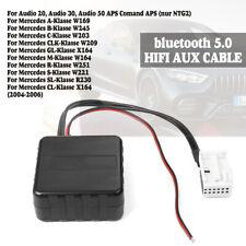 AUX Adapter kompatibel mit Mercedes Comand APS NTG 2 Audio 20 50 MF2540 Kabel MP3