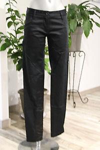 260230a6b68 luxueux pantalon satiné stretch noir femme ARMANI JEANS taille 36 fr ...
